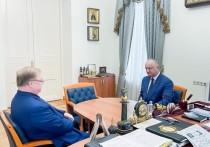 Игорь Додон встретился экс-премьером России Сергеем Степашиным