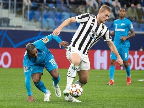 Питерский «Зенит» в матче третьего тура группового этапа Лиги чемпионов принимал туринский «Ювентус» и на равных боролся с итальянским суперклубом почти 90 минут