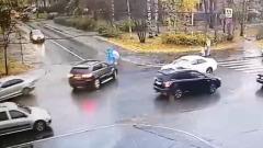 Jeep Grand Cherokee сбил женщину с ребёнком в Петрозаводске