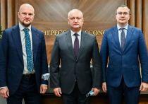 Игорь Додон договаривается о льготах для молдавского бизнеса в Москве