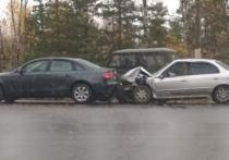 В столкновении двух машин в Касимове никто не пострадал