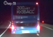Пьяный водитель рейсового автобуса устроил погоню с полицией в Кузбассе