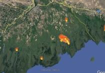 Так согласно дистанционному мониторингу за последние несколько суток в Авандельте  полыхало 3 участка