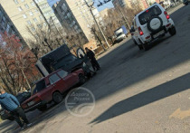 На пересечении Новаторов и Крупской столкнулись ВАЗ и «ГАЗель»