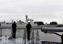 Завершилось первое совместное патрулирование в западной части Тихого океана  боевых кораблей ВМФ России и ВМС Китая