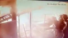 Момент взрыва на заводе под Рязанью попал на видео