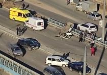 По предварительным данным, водитель перевернувшейся иномарки в момент ДТП на каштакской развязке в Чите находился в состоянии опьянения