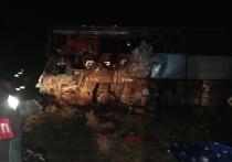Страшное ДТП произошло на 245-ом километре федеральной трассы Р-216 Астрахань- Элиста- Ставрополь