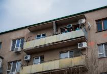 В Астрахани в одном из многоквартирных домов, расположенных на улице Куликова, произошло ЧП