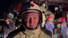 """МЧС показало видео с места столкновения автобуса и """"КАМАЗа"""" в Калмыкии"""