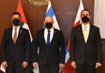 Послы ОАЭ и Бахрена пообедали с премьер-министром Израиля