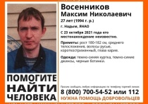 Пропавшего 27-летнего мужчину ищут в Надыме