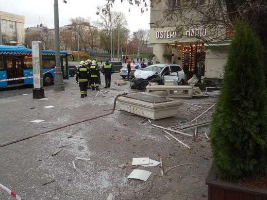 При ДТП в центре Москвы пострадал 41-летний Сергей Шепелев