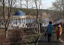 В Каменске-Уральском завершился первый этап комплексной реконструкции набережной реки Исеть