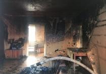 В Астрахани на пожаре обнаружен погибший