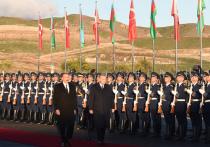 Президент Турции Реджеп Тайип Эрдоган совершил блиц-визит в Азербайджан