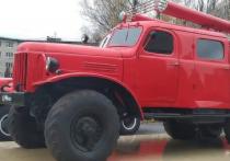 Раритетную пожарную машину использовали для ассенизации в Ленобласти