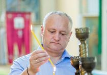 Игорь Додон обвинил власти Молдовы в утрате веры в Бога