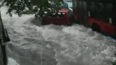 Мощный циклон вызвал наводнение на юге Сицилии