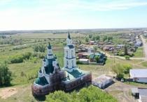 В Курганской области восстанавливают культурное наследие – храмы и церкви