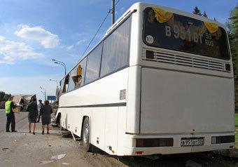122 ДТП с участием автобусов произошло в2010 году натерритории Московской области