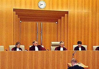 Российские суды подчинили европейскому