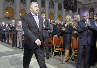 Жириновский покаялся на юбилее