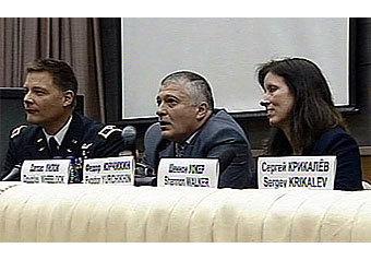 Российские космонавты провалили экзамен из-за американки