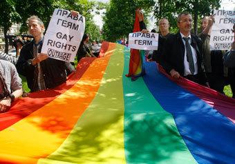 Гей-парад в Москве все-таки состоялся, хотя никто его и не заметил