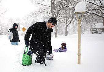 Американцев завалило... снегом. ФОТО, ВИДЕО
