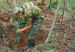 Считается, что война не закончена, пока не похоронен последний солдат