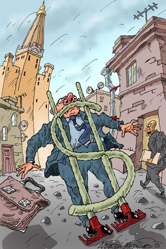 """Рубль с долларом """"заколебают"""" друг друга"""