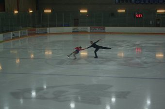 Наши опробовали лед Ванкувера