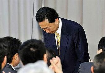 Юкио Хатояма подал в отставку