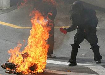 Нетрезвый автолюбитель протестовал против лишения прав