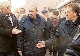 Путину показали новую систему управления войсками
