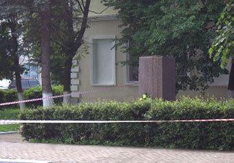 Памятник Владимиру Ленину в подмосковной Рузе оказался полностью уничтоженным в результате набега вандалов