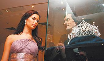 К короне мисс России-2010 приставят охрану. ФОТО