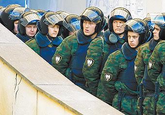 Коррупция  в МВД пробила бронежилеты