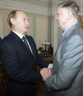 Виктор Тихонов открыл Владимиру Путину глаза на российский хоккей