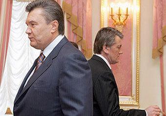 Перестройка Януковича: все наоборот