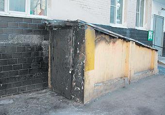 """Месть недовольного клиента могла стать причиной поджога риелторского агентства """"Камерон"""" в четверг в центре столицы"""