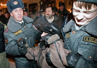 Проходящего мимо митингующей Триумфальной приговорили к 2,5 года колонии