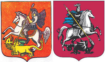 Главный символ столицы дважды разворачивали и много раз перекрашивали