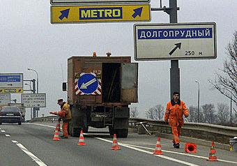 Грузовикам будет заказан путь на мост Ленинградки