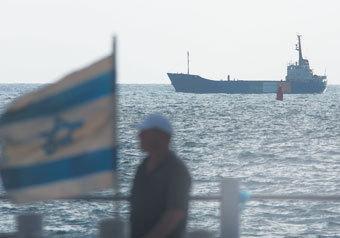 """Израиль перехватил еще одно судно из состава """"флотилии свободы"""""""