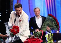 Басков отрепетировал столетие Кобзона на юбилейном концерте мэтра в Кремле