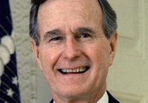 Буш-старший стал свидетелем на однополой свадьбе