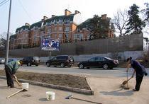 Москвичи протестуют против реконструкции Рублевки