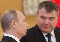 Путин поручил Cердюкову взаимодействовать со следствием